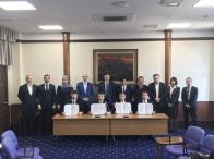 当社のコンサルティングにより、ロシア連邦チェチェン共和国立がんセンターと、大阪府立成人病センター(2017/3から 大阪国際がんセンター)が国際医療交流協定の調印、大阪府知事表敬訪問と意見交換を行いました。