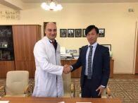 ロシア連邦モスクワ MONIKI病院と日本式医療展開に関わる合意書締結しました。