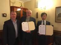ロシア連邦モスクワ KLINPROFIと日本式医療展開に関わるMOU調印と、MOUに関わるロシア連邦への日本式医療施設新設に向けたコンサルティング契約締結いたしました。