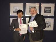 ロシア連邦モスクワ Commed Cardio LLCと日本式医療展開に関わるMOUに当社代表取締役社長 坂上勝也 が調印しました。